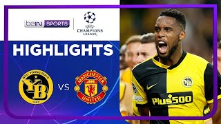 Young Boys 2-1 Manchester United | Champions League 21/22 Match Highlights screenshot 3
