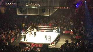 AJ Styles, Dean Ambrose ve John Cena (WWE SmackDown MSG Canlı – 12/26/16)Giriş Yapmak