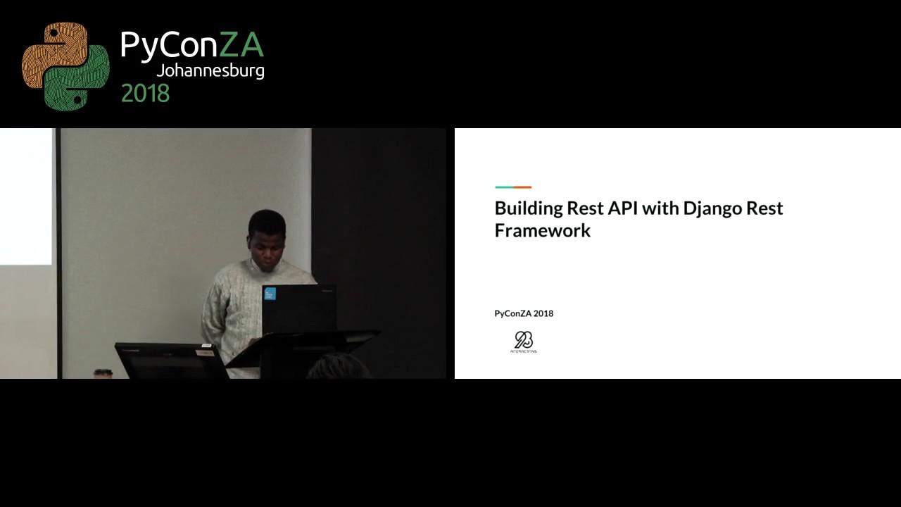 Image from Building Rest API with Django Rest Framework