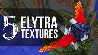 5 ELYTRA TEXTURES - Minecraft 1.9