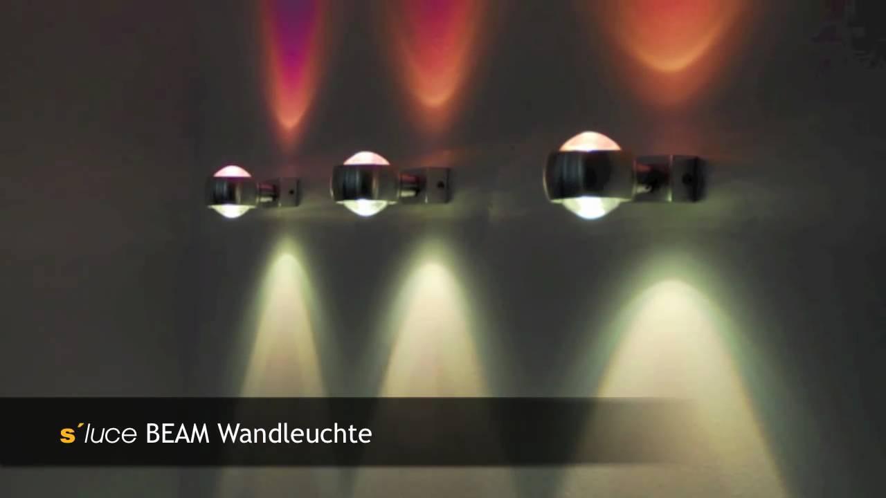 s luce beam anwendungsbeispiele licht design skapetze youtube. Black Bedroom Furniture Sets. Home Design Ideas