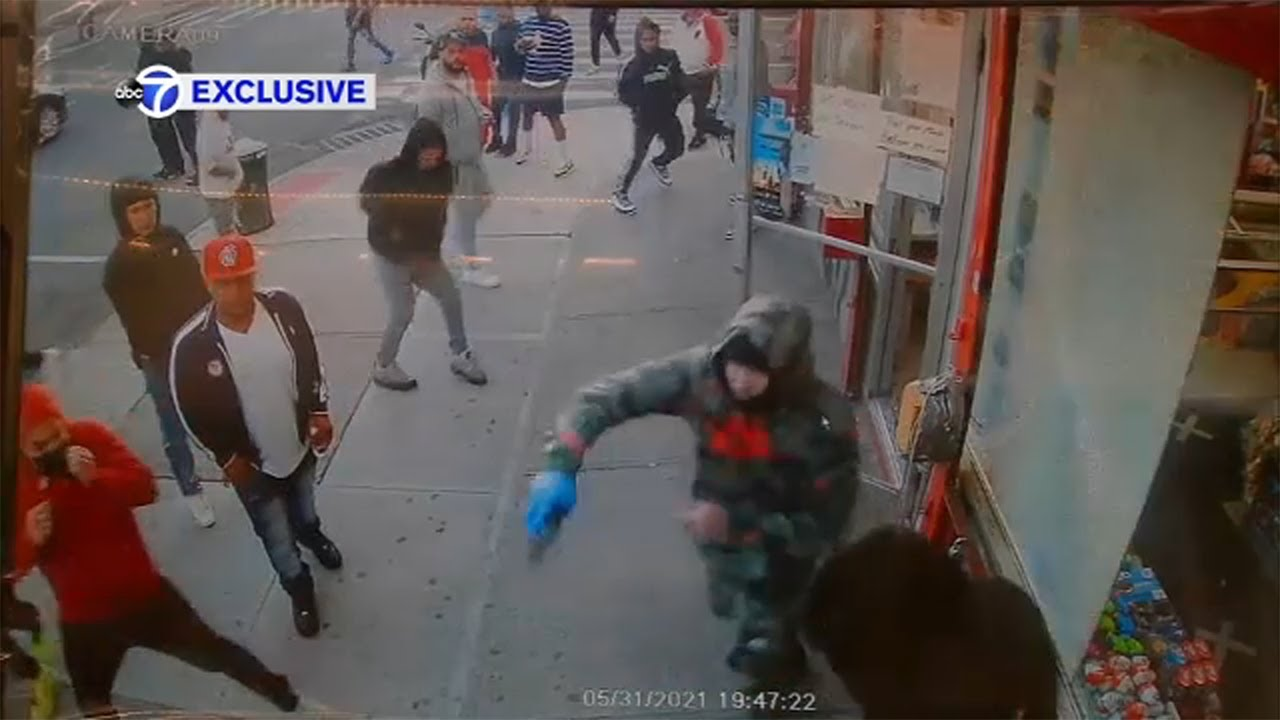 Download Exclusive video: Wild shootout part of violent 6-hour span in NYC