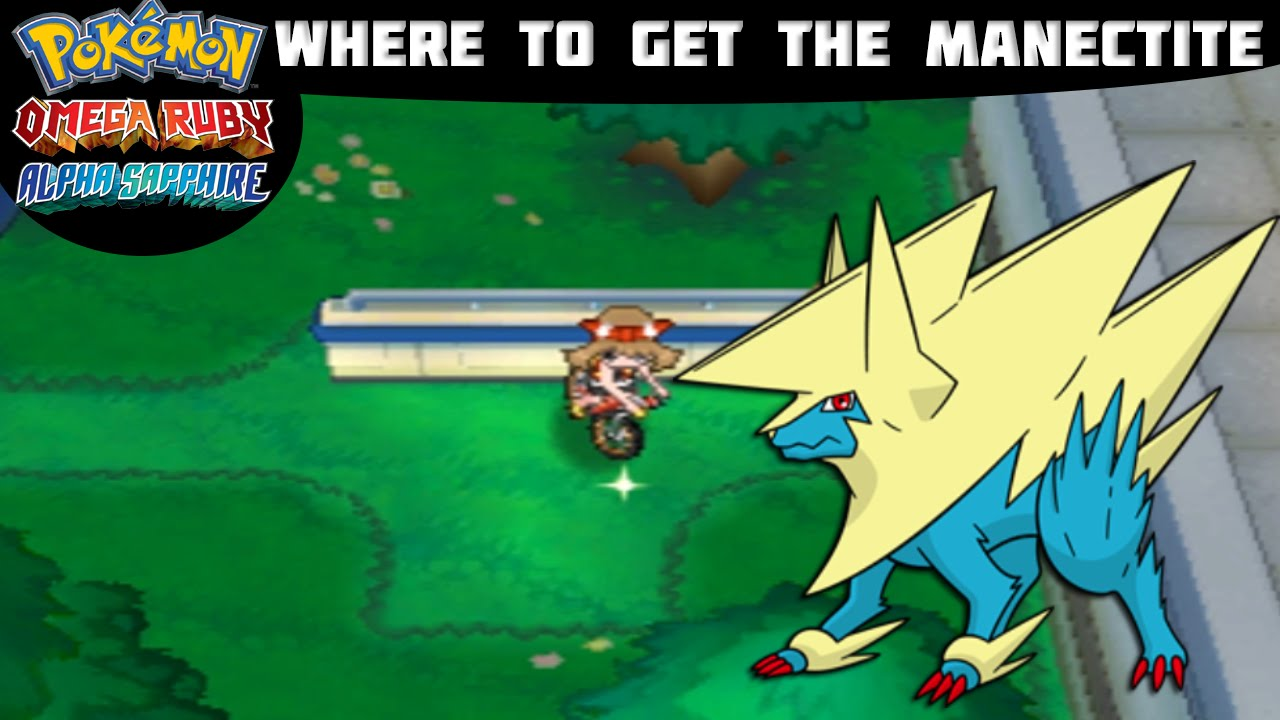 how to get manectite pokemon vortex