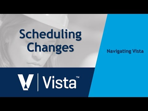 Scheduling Changes