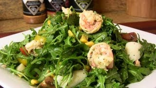 Shrimp & Arugula Salad W/ Fresh Lemon Vinaigrette |cooking With Carolyn