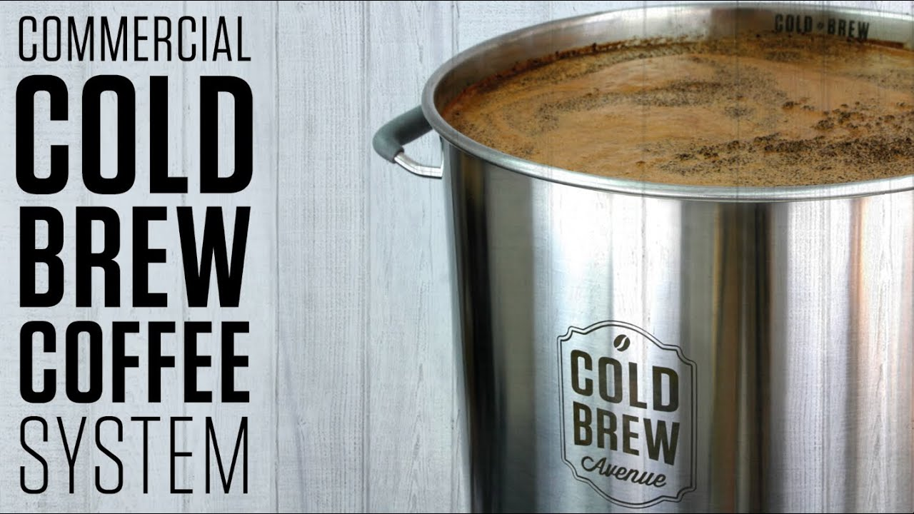 100 Reusable Stainless Steel Commercial Cold Brew Coffee
