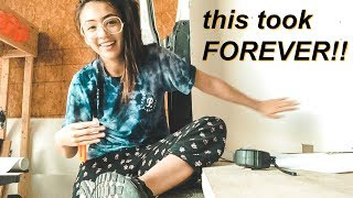 Building A Van Home 🔨🚐: THE WALLS ARE DONE! | Hobo Ahle