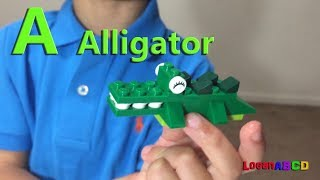 ABC Song | learning ABC Letter Alphabets using LEGO toys