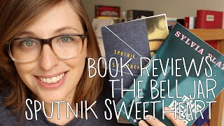 Book Reviews: Sputnik Sweetheart & The Bell Jar