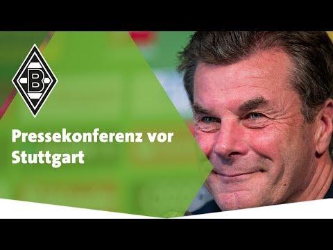 Pressekonferenz vor Stuttgart