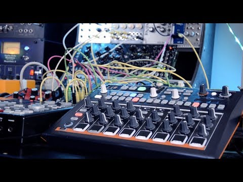 Arturia Drumbrute Impact /Rebach Analog VCO GR11 Modular eurorack connect