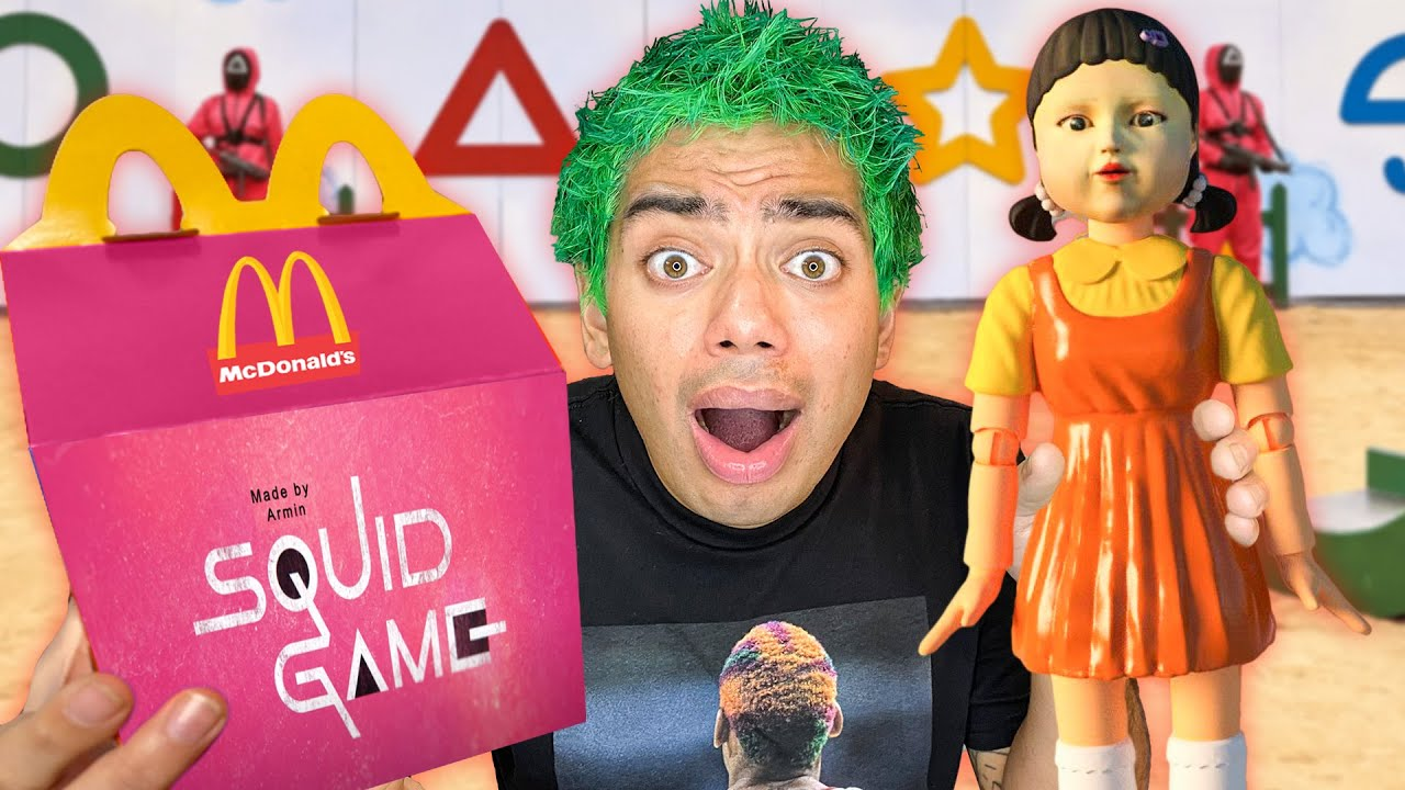 Download Do Not Order SQUID GAME Happy Meal From McDonalds at 3AM!! (THEY CAME AFTER US!!)