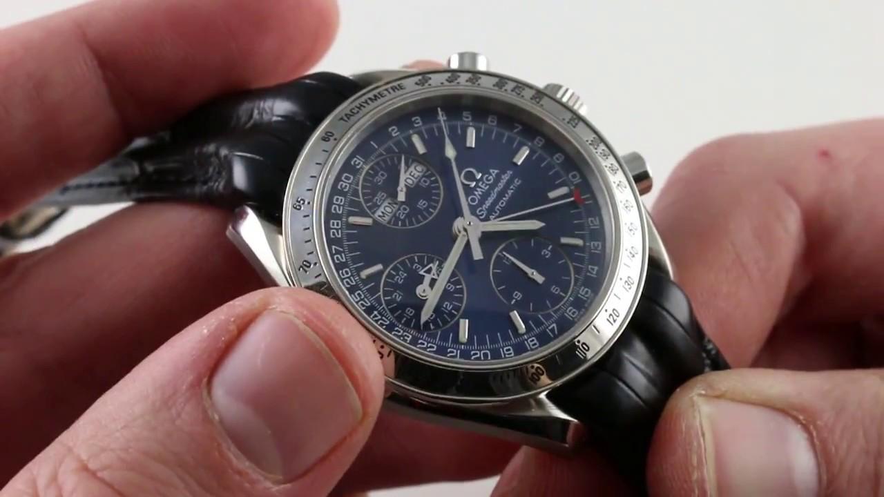 3f47b130b Omega Speedmaster Day-Date 3523.80 Luxury Watch Review - YouTube