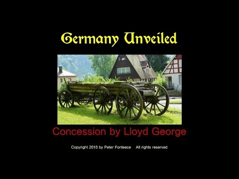 Concession by Lloyd George - Germany Unveiled