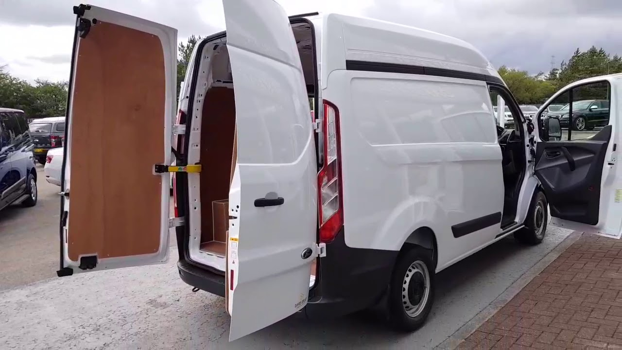 Ford Transit Custom Tdci 100ps 290 L1 H2 Swb High Roof 2 2 5dr Panel Van Manual Diesel Youtube