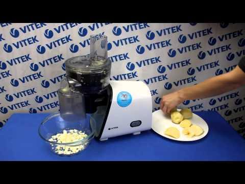 Рецепт приготовления картофельного салата с яйцом в мясорубке VITEK VT-3604 W