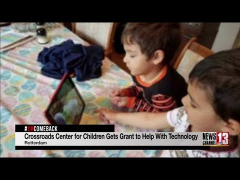Crossroads Center for Children receives grant to upgrade technology amid pandemic