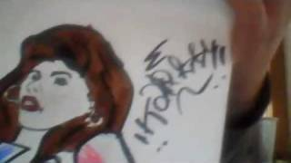 my special drawing From a chola babe (Kay)