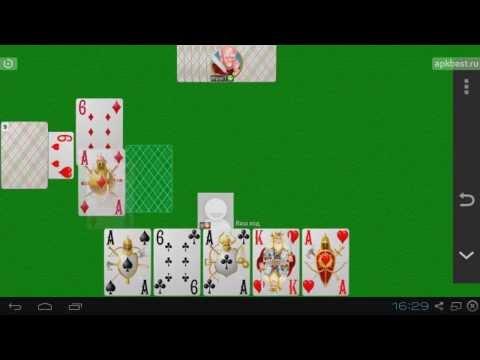 Обзор -  Сборник карточных игр - для Андроид
