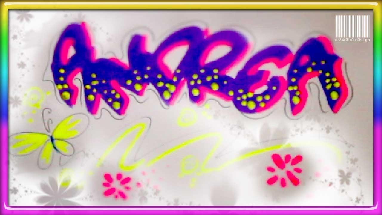 Letras De Decoracion Para Cartas ~ nombre decorado  Letra timoteo  Sobre de Quince  YouTube