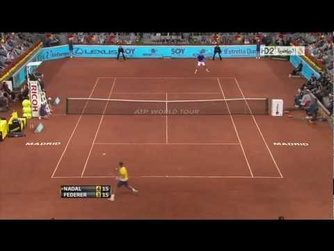 Federer vs Nadal - Madrid 2011 SF (HD)