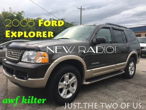 Upgrading 2005 Ford Explorer! Radio And More