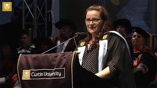 Setbacks as the key to success | Curtin University Graduation Speech 2018