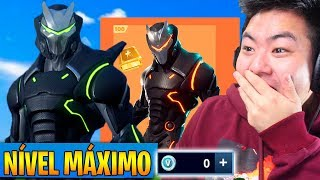 I GOT THE OMEGA MAXIMUM LEVEL WITHOUT SPENDING V-BUCKS!! -Fortnite Battle Royale