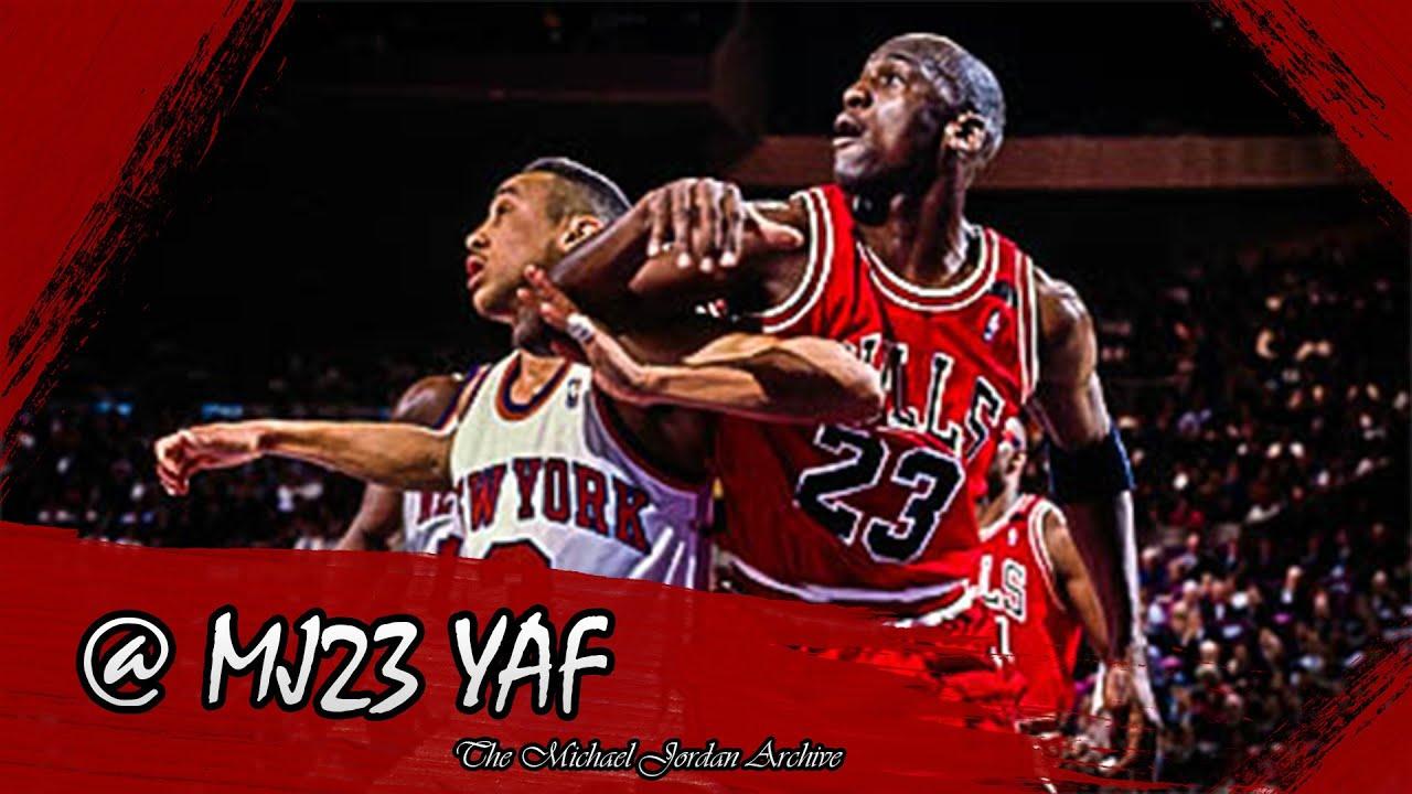 Michael Jordan vs John Starks Highlights Bulls vs Knicks 1992 03