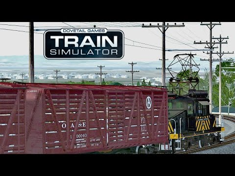 Train Simulator 2017 - Электровоз GE 650-class - Cattle to O