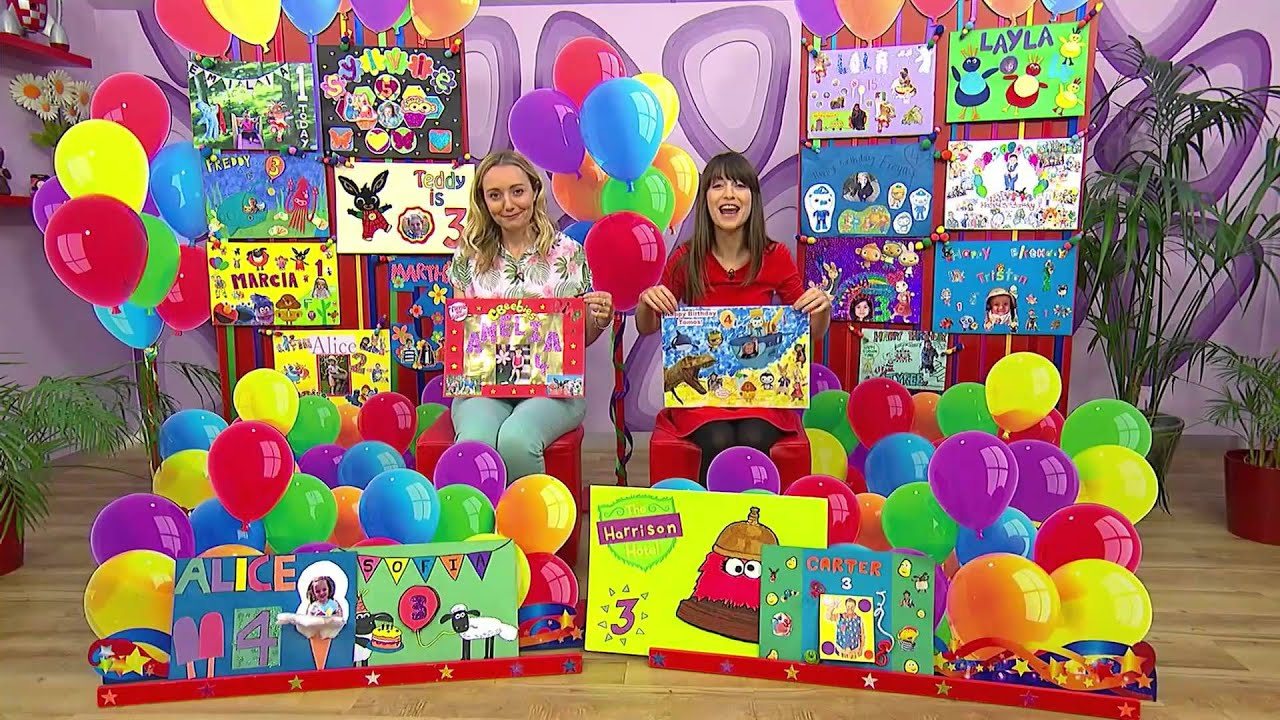 Harrisons 3rd Birthday Card on Cbeebies YouTube – Cbeebies Birthday Cards Youtube