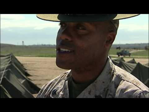 Making of a Marine Camp Pendleton RAW FOOTAGE 2004