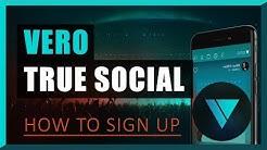 Vero True Social - How to sign up