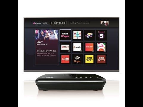 Humax HDR 1100s Freesat HD TV Satellite Recorder 2017