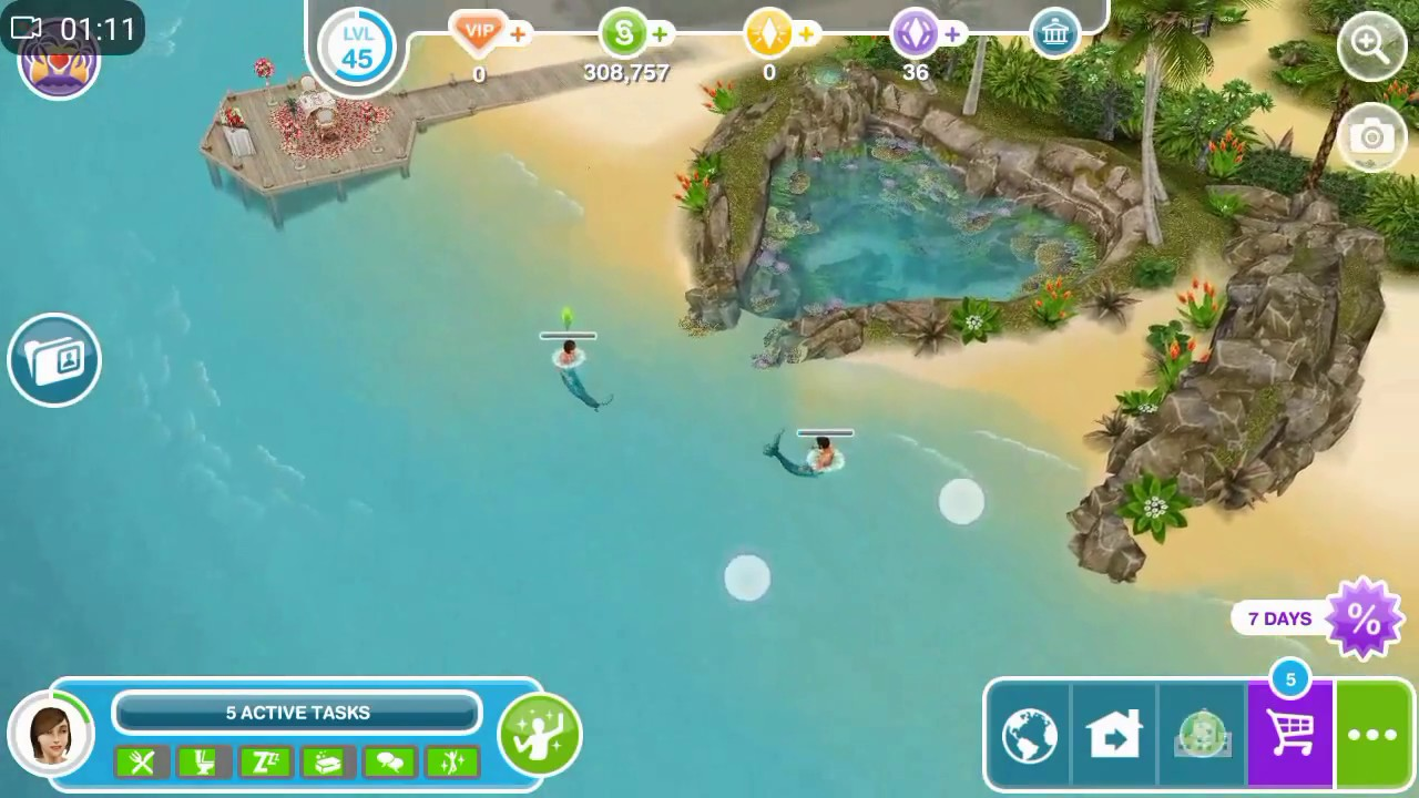 How to become a mermaid in Sims-3 How to find a mermaid and create her own
