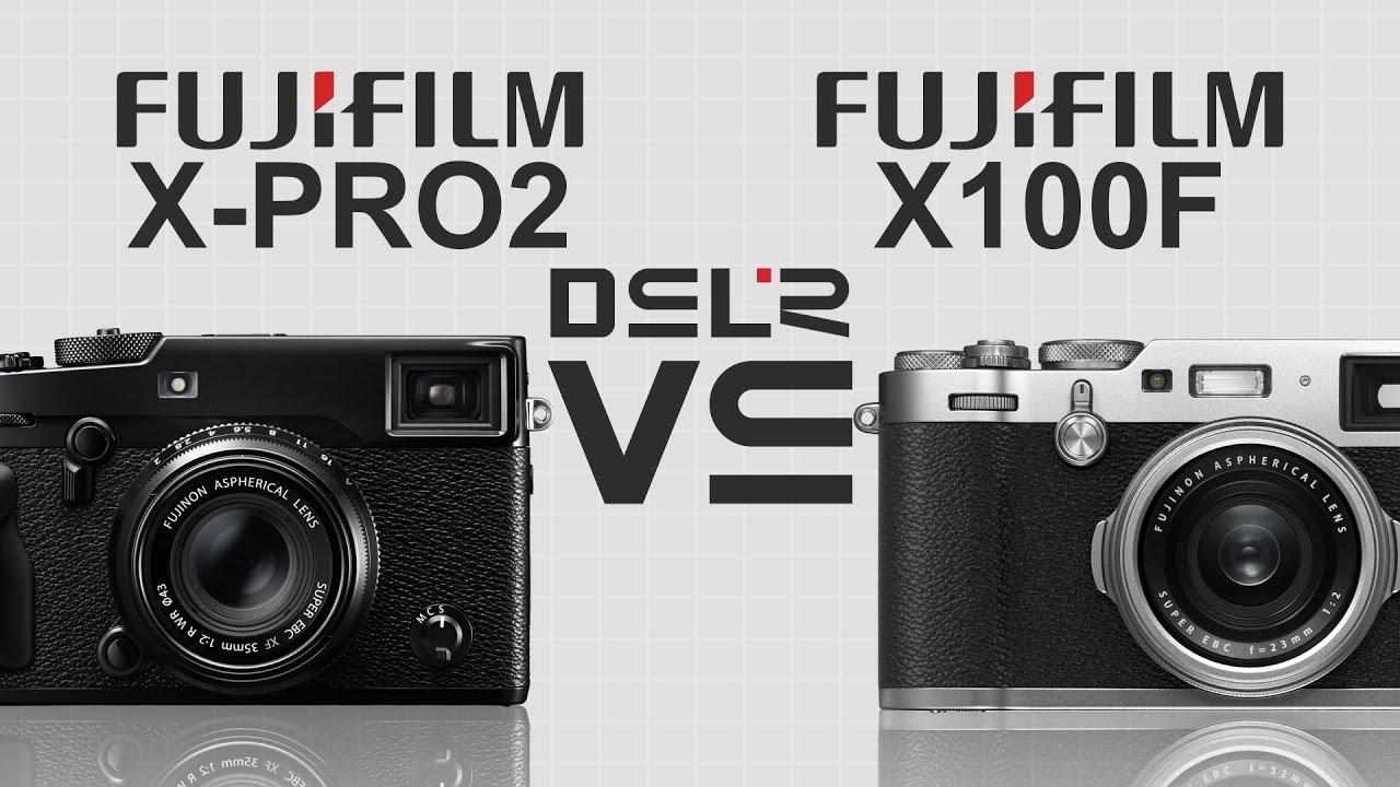 Fujifilm X PRO 2 Vs X100F