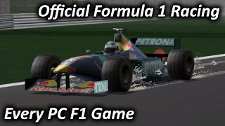 Official Formula 1 Racing (1999) - Every PC F1 Game