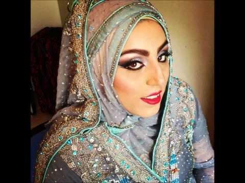 Walima Bridal Makeup & Hijab Styling Transformation ...