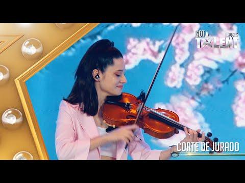 TAMARA volvió con su violín y cantó un clásico de Stevie Wonder