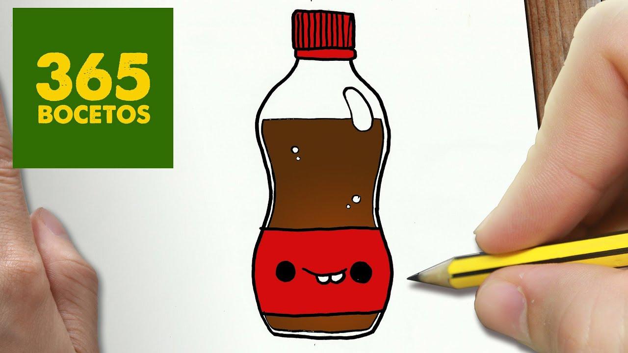 Como Dibujar Cocacola Kawaii Paso A Paso Dibujos Kawaii Faciles How To Draw A Cocacola