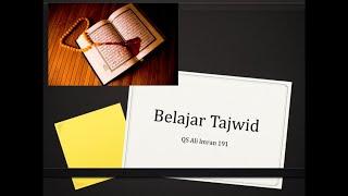Terbaru! Tajwid Quran Ali Imran ayat 191