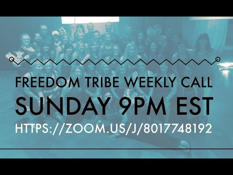 FREEDOM TRIBE WEEKLY TEAM CALL November 20th, 2016