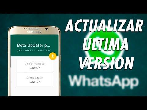 Como Actualizar Automáticamente a la Ultima Versión de Whatsapp