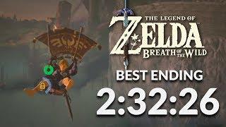 BotW Best Ending Speedrun in 2:32:26