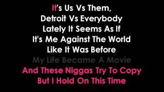 detroit vs everybody karaoke eminem ,Royce da 59, Big Sean, Danny Brown, Dej Loaf, Trick Trick