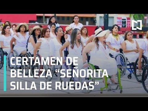 Realizan certamen de belleza para mujeres en silla de ruedas - Noticias con Karla Iberia