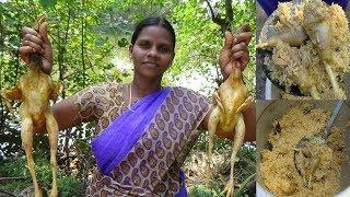 Country Chicken Dum Briyani   Nattu Kozhi Biryani in Tamil / நாட்டு கோழி பிரியாணி/vada kozhi briyani