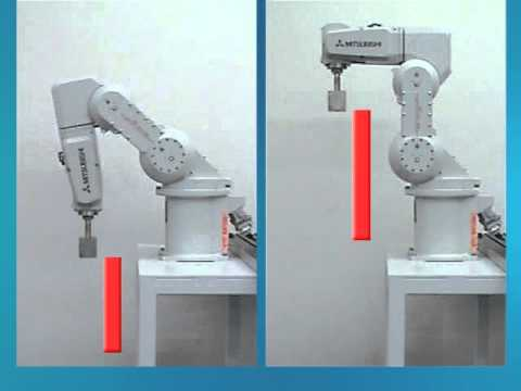 Mitsubishi Electric robot singularity