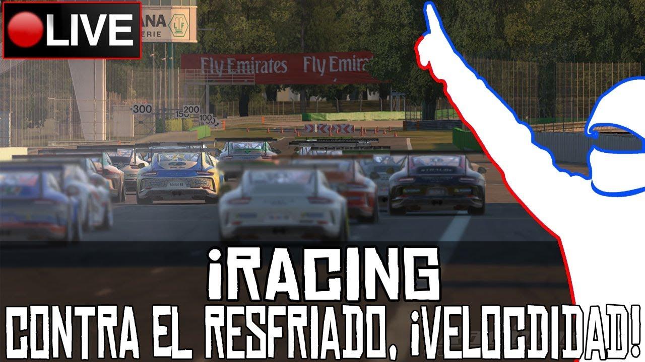 iRacing || Contra el resfriado, ¡velocidad! (Porsche 911 @ Monza) || LIVE