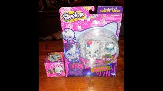 New!! Shopkins season 9 shoppets Snow fro!!! With 2 pk un boxing.